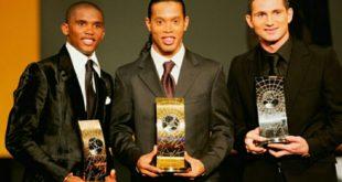 Past FIFA Men's Player Award winners