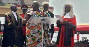 Ghana: Nana Akufo-Addo is sworn in as president