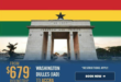 South African Airways Salutes Ghana's 60th Independence Day With Special $679 Sale Fare