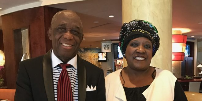 Thandi Tutu-Gxashe Honors Dr. Thomas Mensah and shares passion for education