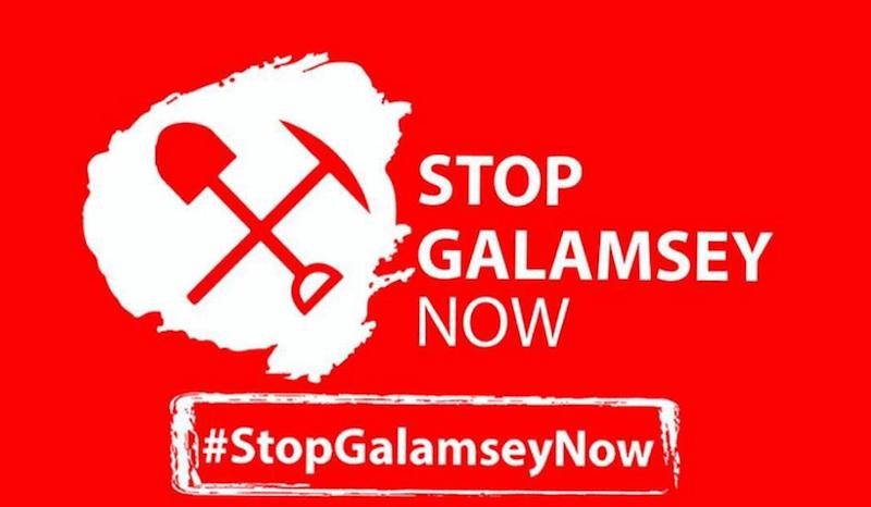 #StopGalamseyNow