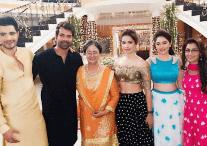 Kumkum Bhagya cast in photo courtesy Leena Jumani:Instagram - The