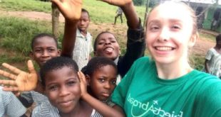 Alton College Experience volunteer makes 'life-changing' trip to Ghana