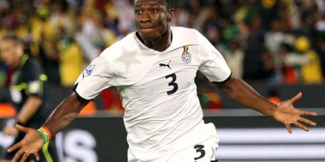 Sky captain Asamoah Gyan: Soccer star to launch 'Baby Jet' airline