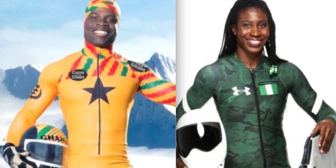 Akwasi Frimpong competes as Africa's first male skeleton athlete at 2018 Winter Olympics