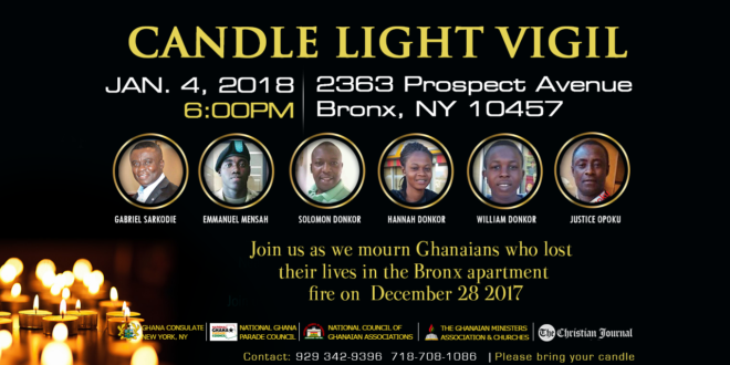 Consul General Professor Samuel Amoako Consoles Bereaved Families of Bronx Fire Disaster