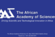 The African Academy of Sciences appeals for more Africa-based funding