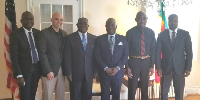 Ambassador Hector Posset of Benin invited to Embassy Chef Challenge