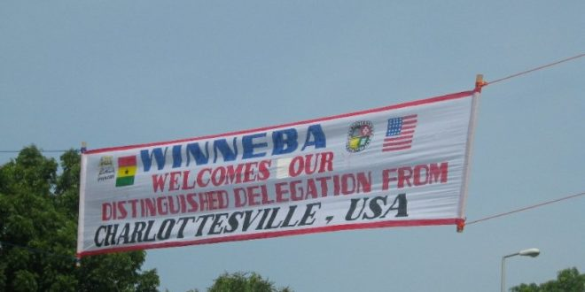 Charlottesville-Winneba Foundation to visit Ghana sister city in April 2018