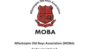 Mfantsipim Old Boys Association (MOBA) Endowment Fund