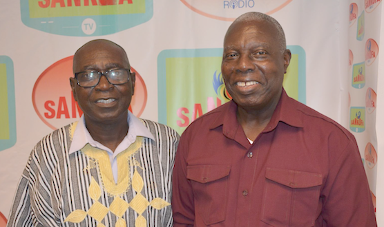 Ambassador Adjei-Barwuah connects with Diaspora on US-Based Sankofa Radio