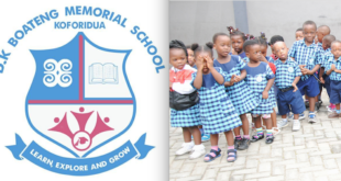D.K Boateng Memorial School raising funds to educate pupils