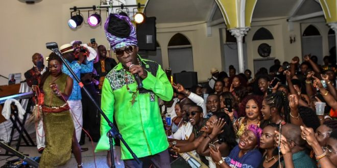 Music legend Kojo Antwi of Ghana on a multi-city lyrical invasion in the US