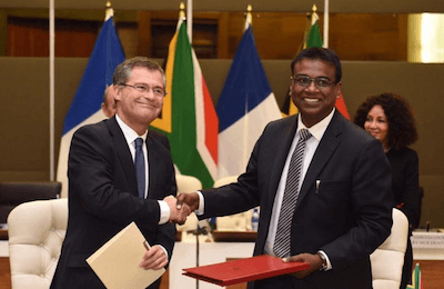 South African National Space Agency and CNES of France Sign MoU
