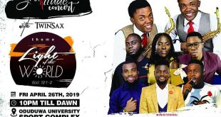 Twinsax Gratitude Concert