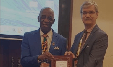 Fiber optics expert Dr. Thomas Mensah receives prestigious global award