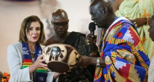 Symbolism of 400 years visit to Ghana by Pelosi and black US congress members
