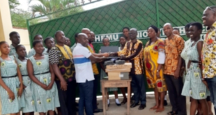 German School donates laptops to Chemu SHS in Tema