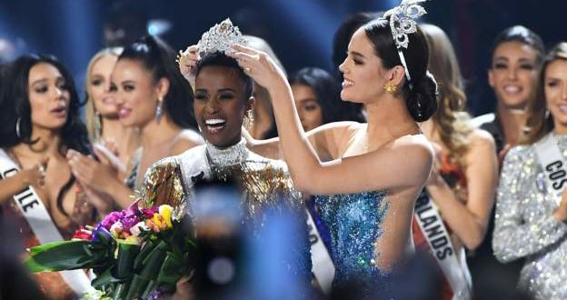 South African beauty queen crowned Miss Universe 2019
