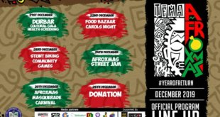 AfroXmas 2019 shows off the port city of Tema in Ghana to the world