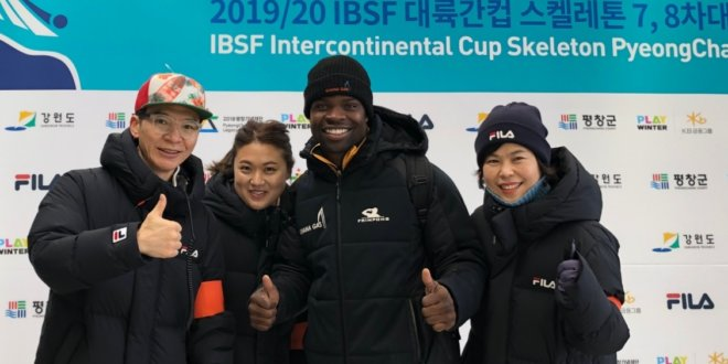 Skeleton Olympian Akwasi Frimpong now two-time finalist in Pyeongchang