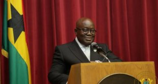 "Ghana's Akufo Addo named ""champion of the AU financial institutions"""