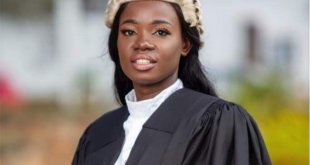 Meet Ghanaian lady who works as nurse at night and lawyer by day