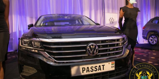 Ghana unveils locally assembled Volkswagen cars (Photos)