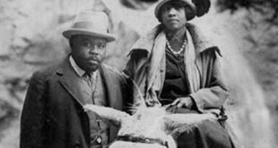The second wife of Marcus Garvey who sacrificed everything to make his dream possible