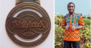 Ghana wins bronze at 61st International Maths Olympiad