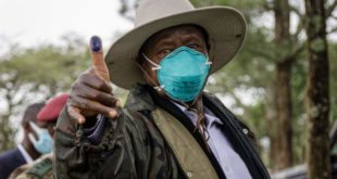 Uganda's President Museveni in early vote-count lead, Bobi Wine is positive