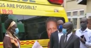 Ugandan minister takes back ambulance after losing party primary