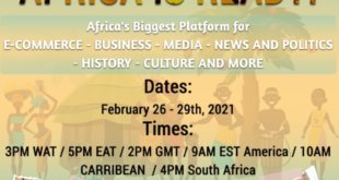 Experience the big February 2021 launching of Afroworld.TV