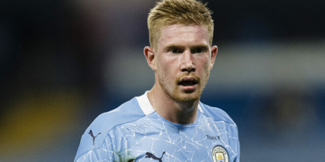 Kevin de Bruyne extends Man City contract until 2025