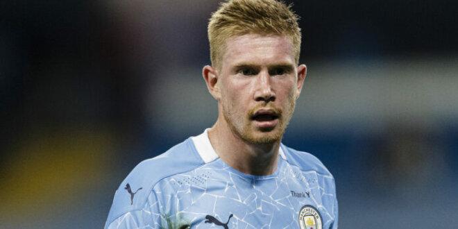 Kevin de Bruyne extends Man City contract until 2025
