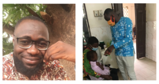 Heroes of COVID-19: Francis Danso is reducing Ghana infant mortality rates