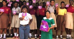 A Celebration of World Menstrual Hygiene Day At Ahwerewam in Ghana