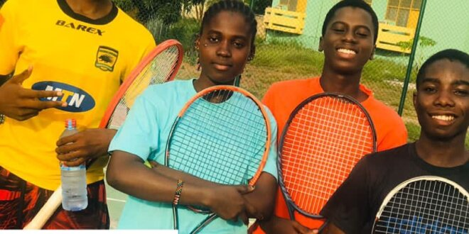 High Quality Tennis Foundation helps Children in Ghana escape life's racket