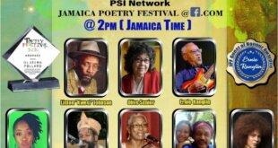 """Jamaica Poetry Festival 2021 – """"Virtual Global Diaspora Edition"""""""