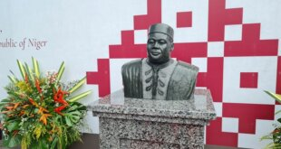 AfCFTA honours ex-Nigerien leader with a statue in Ghana
