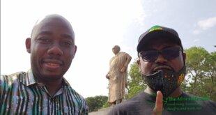 Abeiku Aggrey Santana takes Oral Ofori on a Heritage Tourism ride in Accra, Ghana