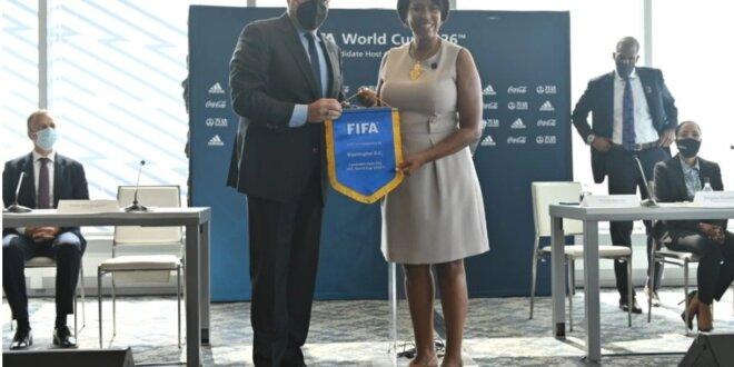 DC Makes FIFA Bid to Host World Cup Soccer Games in 2026