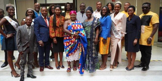 Media Group, Delegation interacts with Ambassador Hajia Alima Mahama